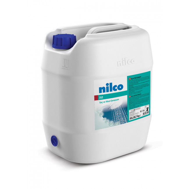 Nilco IVI Saç ve Vücut Şampuanı Parfümlü 20,7kg