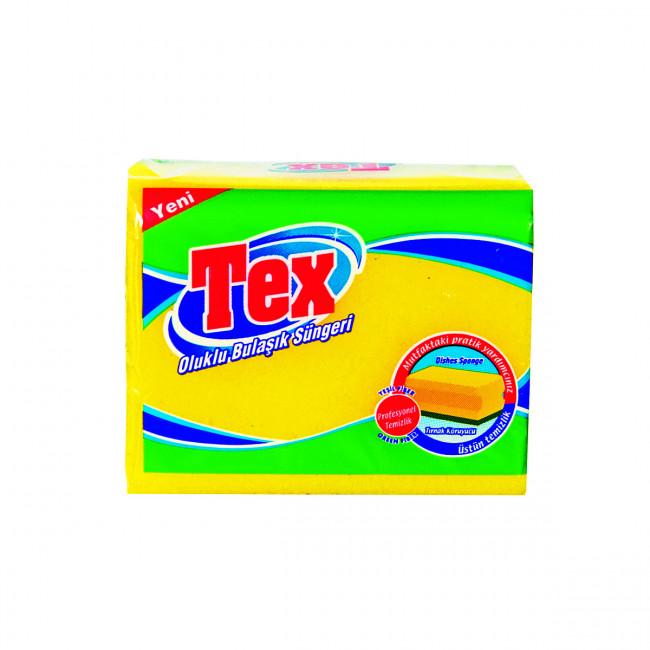 Tex Oluklu Bulaşık Süngeri 5li