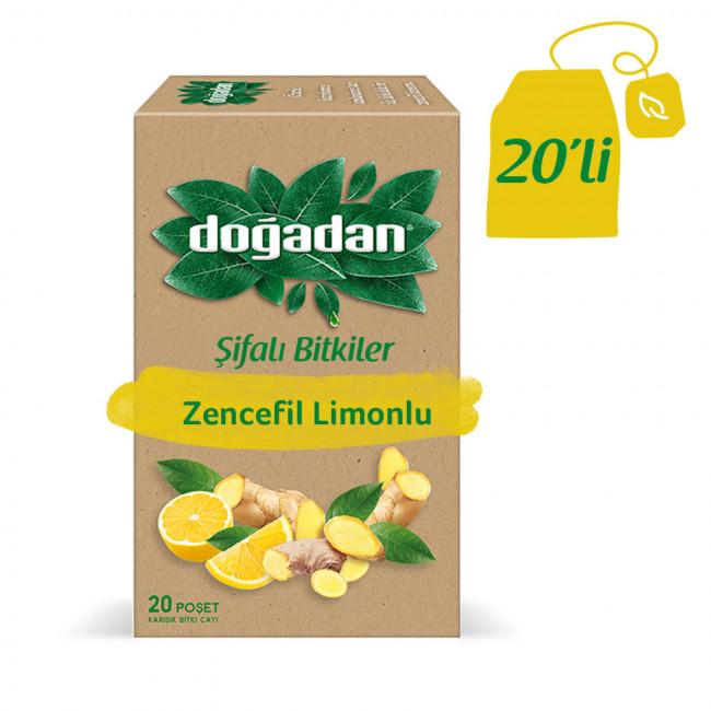 Doğadan Zencefil Limon 20li