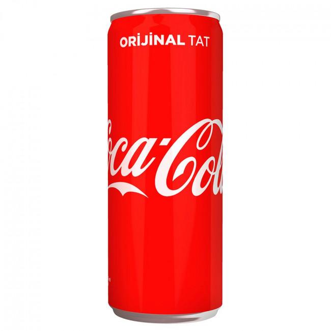Coca Cola Kutu 330ml