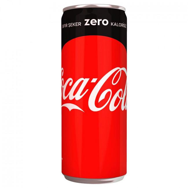Coca Cola Zero Kutu 330ml