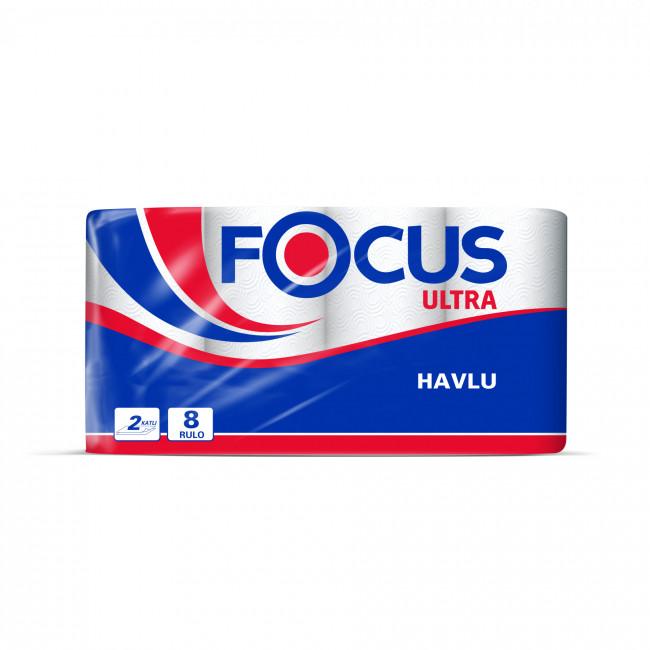 Focus Ultra Rulo Havlu 24lü