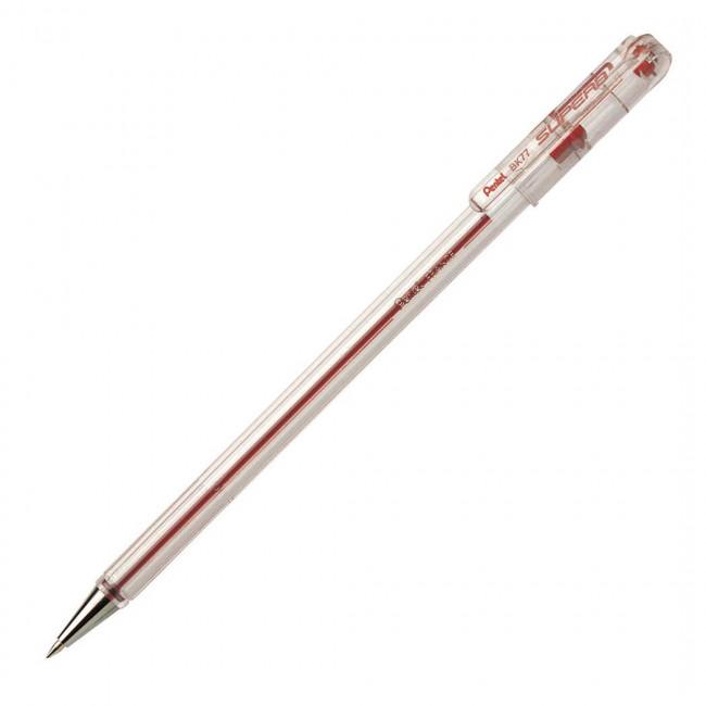 Pentel BK-77 Tükenmez Kalem Kırmızı