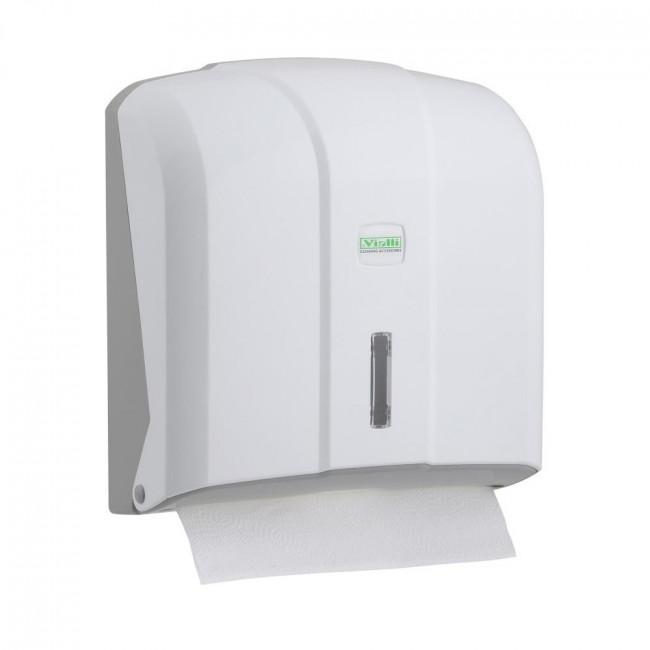 Z-Havlu Dispenseri Plastik Beyaz