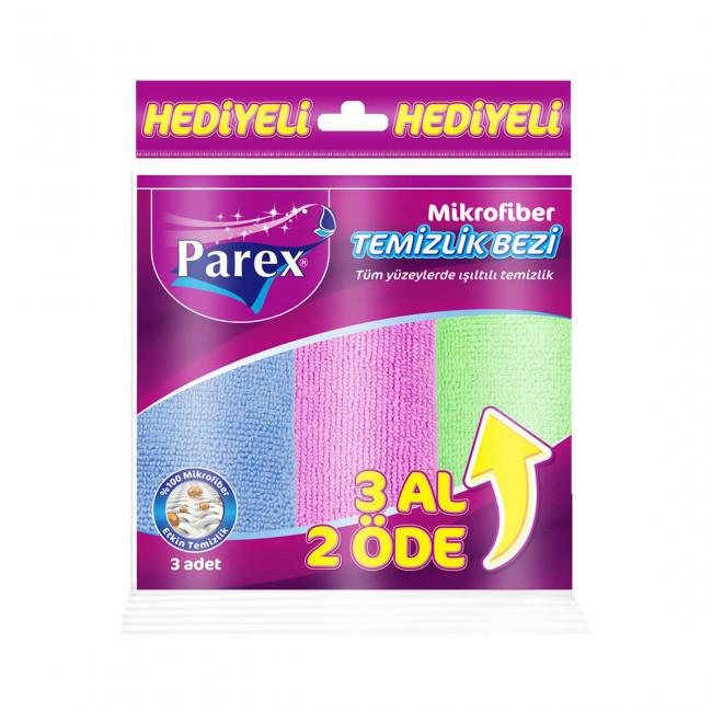 Parex Mikrofiber Comfort Temizlik Bezi 3lü