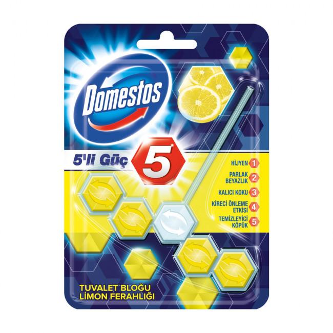 Domestos 5li Güç Limon 53gr