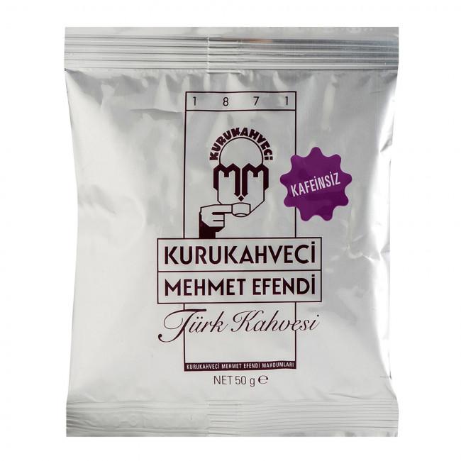 Kurukahveci Mehmet Efendi Kafeinsiz Türk Kahvesi 50gr