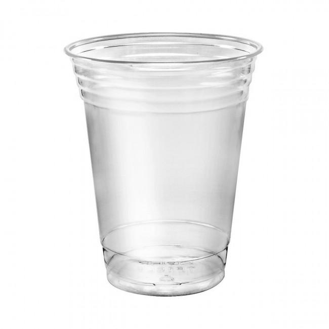 Plastik Bardak Standart 250ml Şeffaf 100lü