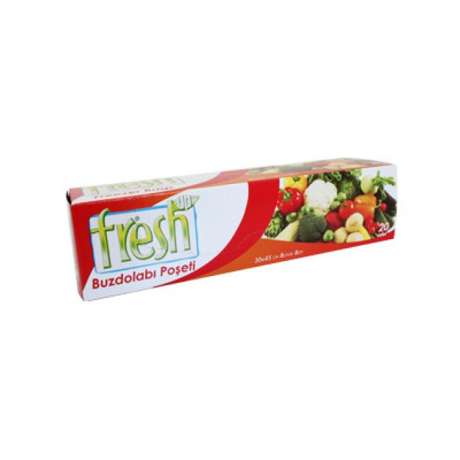 Fresh-Up Buzdolabı Poşeti Orta 50li