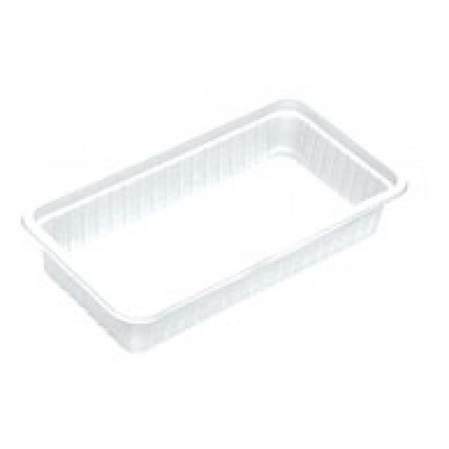 Plastik Kase Beyaz 500gr 100lü