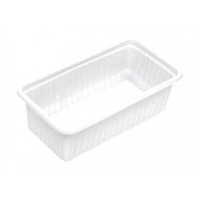 Plastik Kase Beyaz 1000gr 100lü