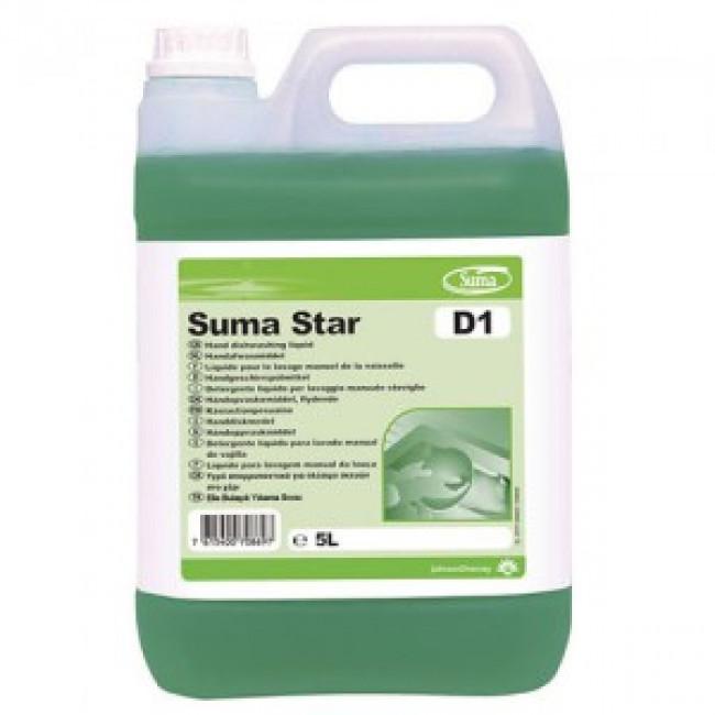 Suma Star D1 Sıvı Bulaşık Deterjanı 5kg
