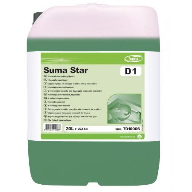 Suma Star D1 Sıvı Bulaşık Deterjanı 20kg