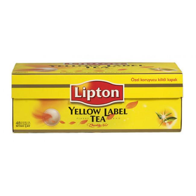 Lipton Yellow Label Demlik Poşet Çay 100lü