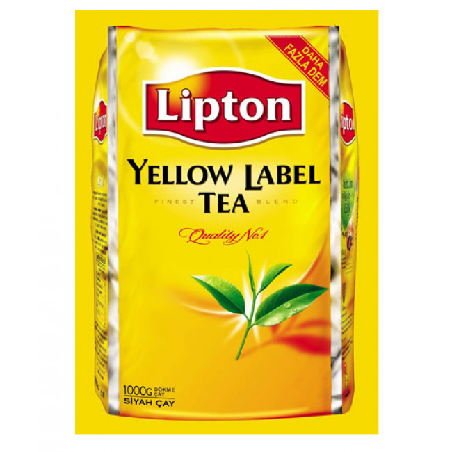 Lipton Yellow Label Eko Paket 1000gr