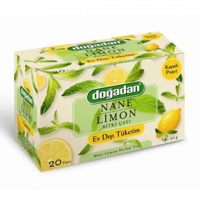 Doğadan Nane Limon 20li