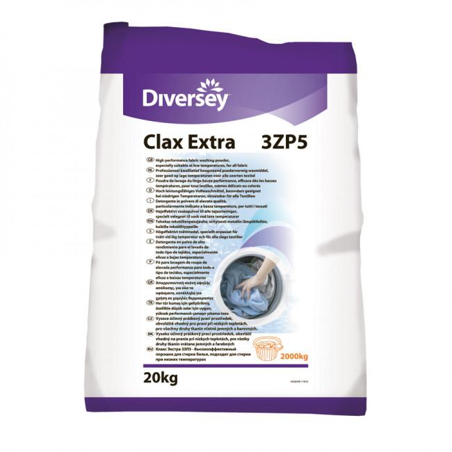 Clax Extra Perboratlı Ağartıcılı Ana Yıkama Deterjanı 20kg