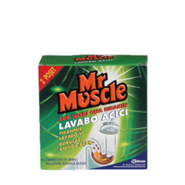 Mr.Muscle Lavabo Açıcı Granül 140gr