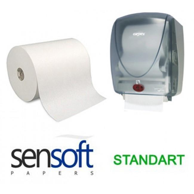 Sensoft Fotoselli Havlu Standart 21cm 3,5kg 6lı