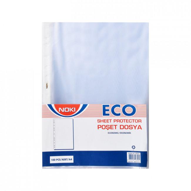 Noki 4830 Eco Poşet Dosya A4 100lü