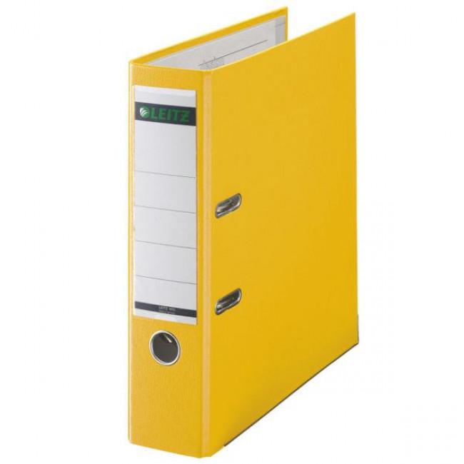 Leitz Klasör 1010 Plastik Geniş Sarı