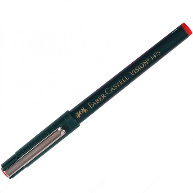 Faber Castell 1475 Vision İğne Uçlu Kalem Kırmızı (0.3mm)