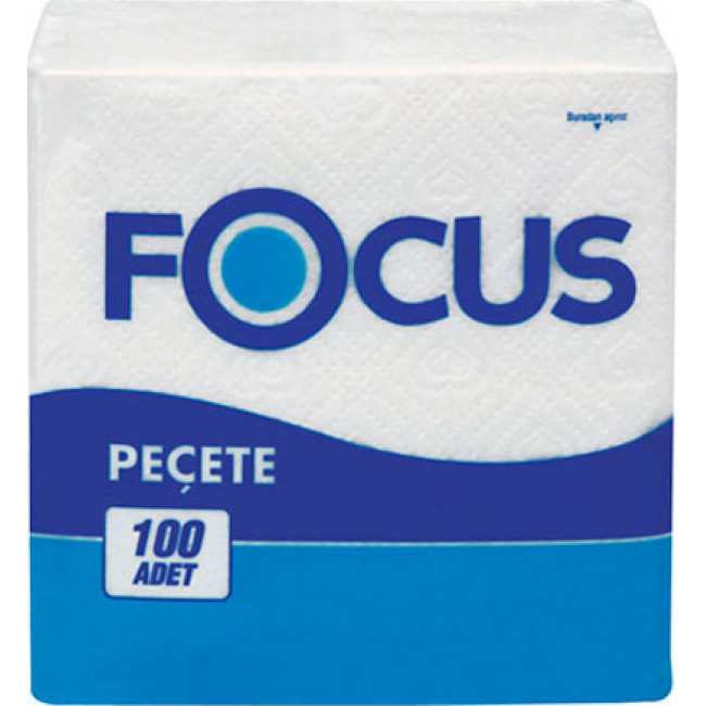 Focus Süper Peçete 30x30cm 100lü