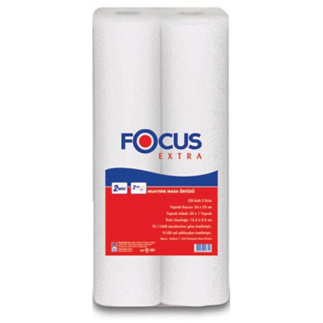 Focus Extra Muayene Masa Örtüsü 12li Koli