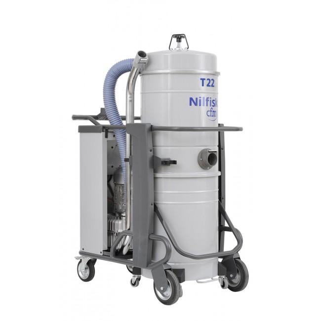 Nilfisk T22 L100 Sanayi Tipi Elektrik Süpürgesi