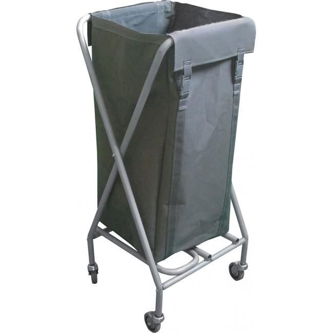 Çöp / Çamaşır Toplama Arabası 100LT (Boyalı) Kod: ÇT261MB