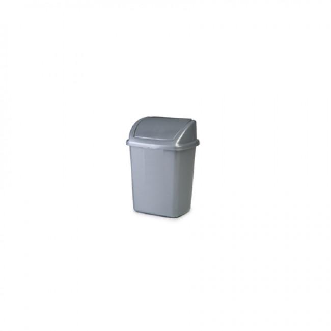 İtme Kapaklı Çöp Kovası No:1 Y:28cm (5LT)