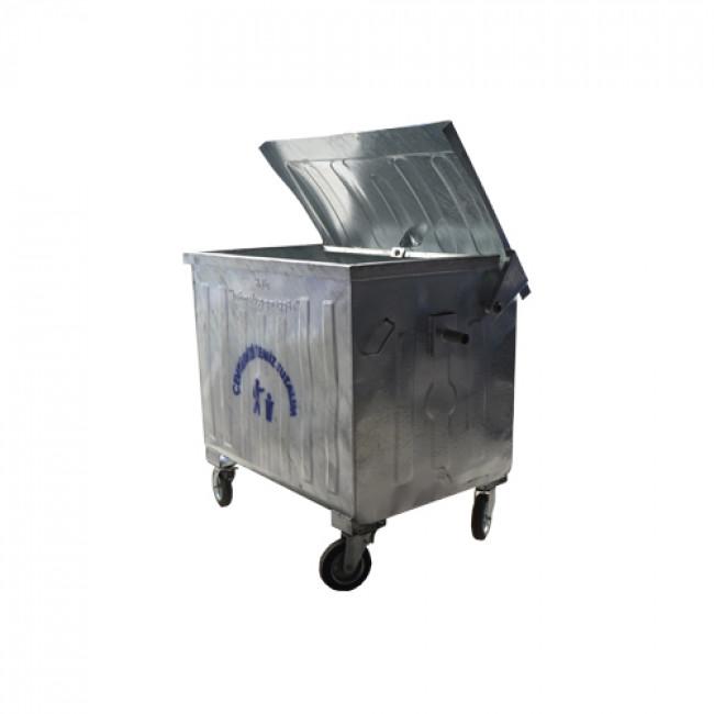 Metal Çöp Konteyneri 1100lt