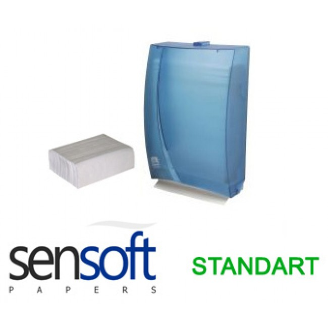 Sensoft Dispenser Havlu Standart 200ad 12li Koli