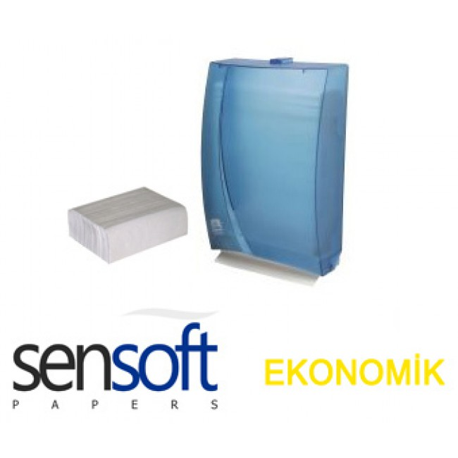 Sensoft Dispenser Havlu Ekonomik 160ad 12li Koli